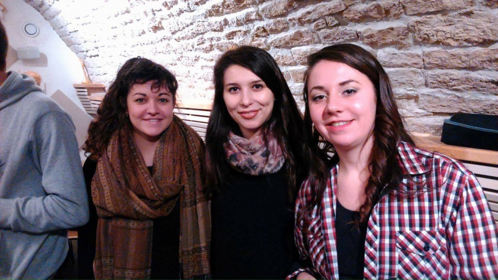 Sarah Barkati, Madalina Virlan et Lucie Berger