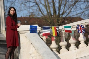 Madalina Virlan, volontaire roumaine en service civique international