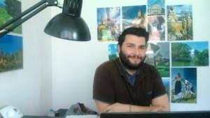 Jean-Baptiste Joly, stagiaire de l'Atelier Mobilité Léo Lagrange